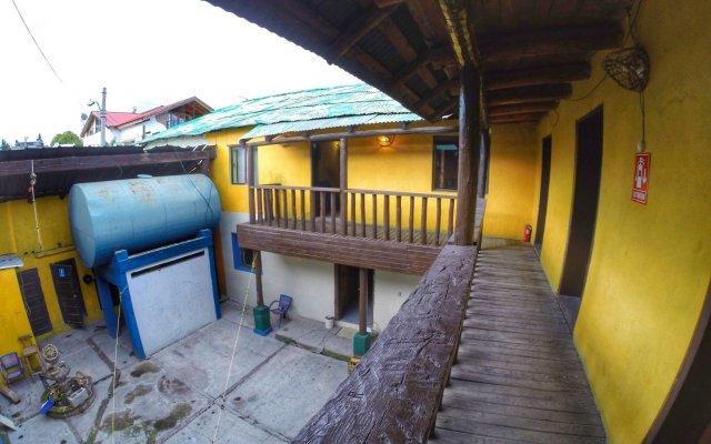 Отель Posada St Cruz Creel Мексика, Креэль - отзывы, цены и фото номеров - забронировать отель Posada St Cruz Creel онлайн вид на фасад