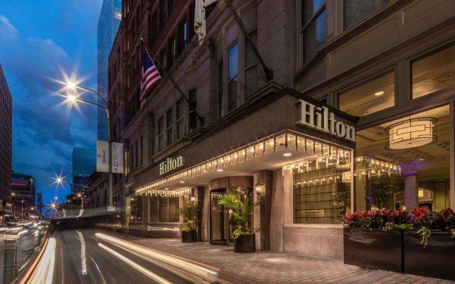 Отель Hilton St. Louis Downtown Сент-Луис вид на фасад