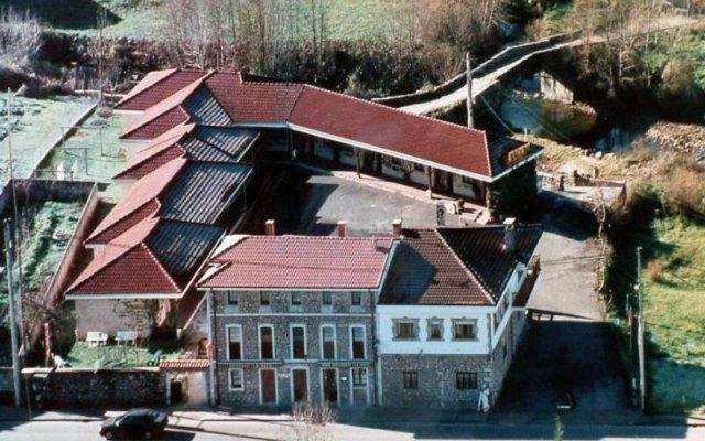 Отель La Ruta De Cabrales Кангас-де-Онис вид на фасад