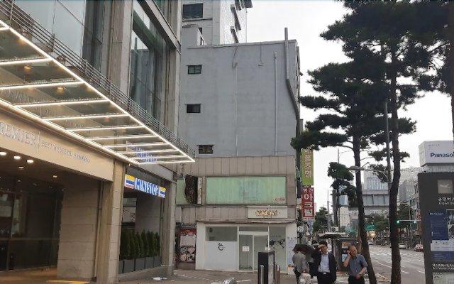 Отель Lodging House Korea вид на фасад