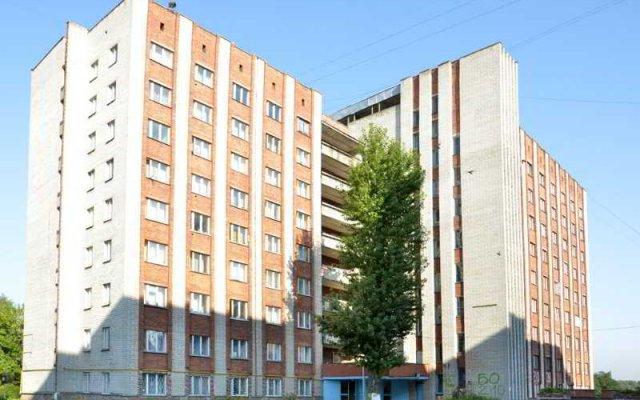 Hostel 3 Of Academy Of Commerce Львов вид на фасад