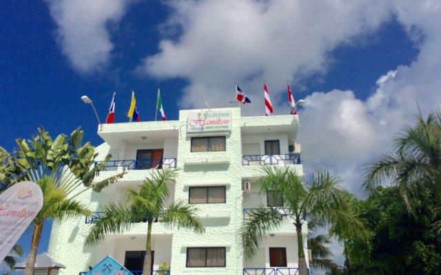 Отель Hamilton Доминикана, Бока Чика - отзывы, цены и фото номеров - забронировать отель Hamilton онлайн вид на фасад