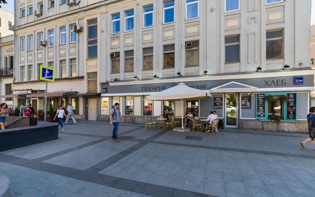 Отель Гостика Москва вид на фасад