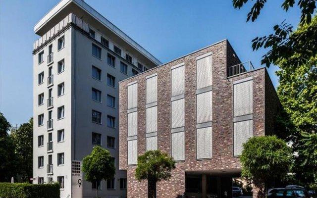 Отель BURNS Art Cologne Германия, Кёльн - отзывы, цены и фото номеров - забронировать отель BURNS Art Cologne онлайн вид на фасад