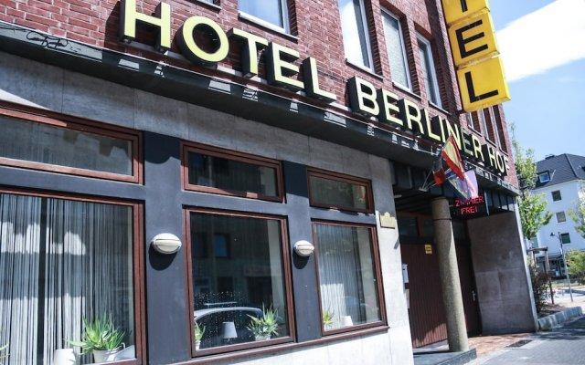 Hotel Berliner Hof вид на фасад