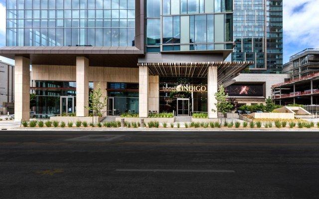 Отель Indigo Los Angeles Downtown, an IHG Hotel США, Лос-Анджелес - отзывы, цены и фото номеров - забронировать отель Indigo Los Angeles Downtown, an IHG Hotel онлайн вид на фасад
