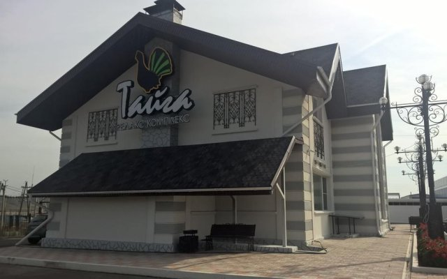 Гостиница Taiga Inn в Красноярске отзывы, цены и фото номеров - забронировать гостиницу Taiga Inn онлайн Красноярск вид на фасад