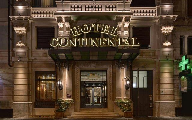 Continental Genova Hotel Генуя вид на фасад