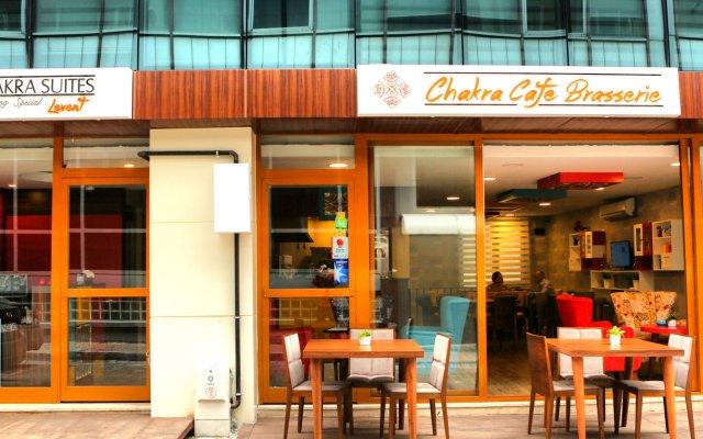 Отель Chakra Suites Levent вид на фасад