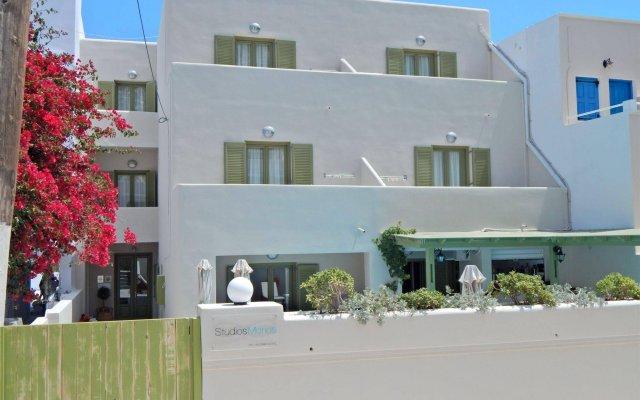 Отель Studios Marios Греция, Остров Санторини - отзывы, цены и фото номеров - забронировать отель Studios Marios онлайн вид на фасад