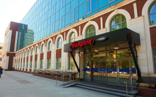 Гостиница Hampton by Hilton Samara вид на фасад