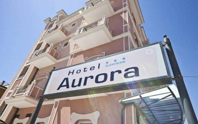 Hotel Aurora Римини вид на фасад