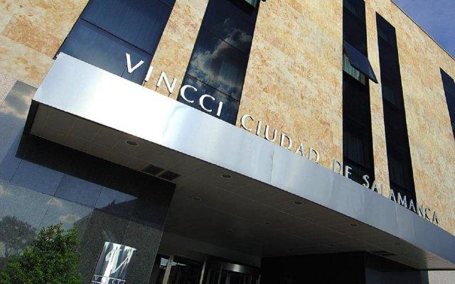 Отель Vincci Ciudad de Salamanca вид на фасад