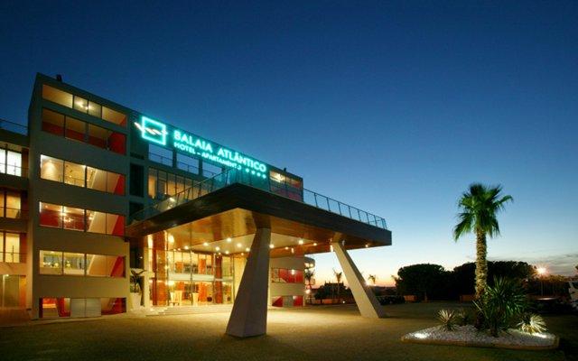 Hotel Apartamento Balaia Atlantico вид на фасад