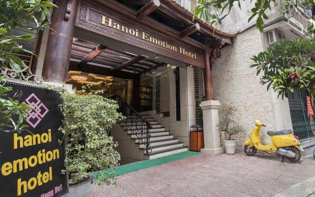 Отель Hanoi Emotion Hotel Вьетнам, Ханой - отзывы, цены и фото номеров - забронировать отель Hanoi Emotion Hotel онлайн вид на фасад