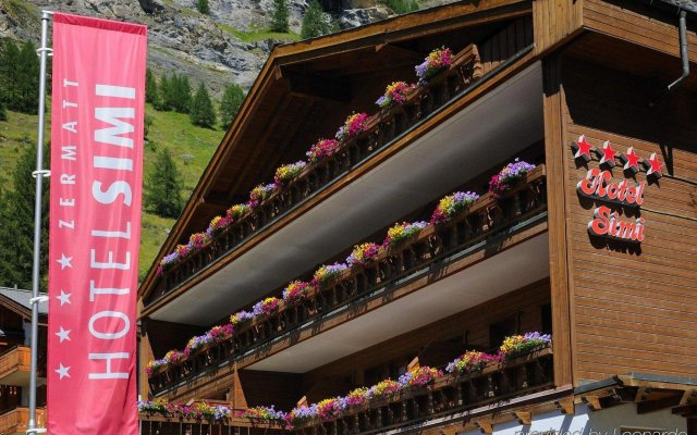 Отель Simi Швейцария, Церматт - отзывы, цены и фото номеров - забронировать отель Simi онлайн вид на фасад