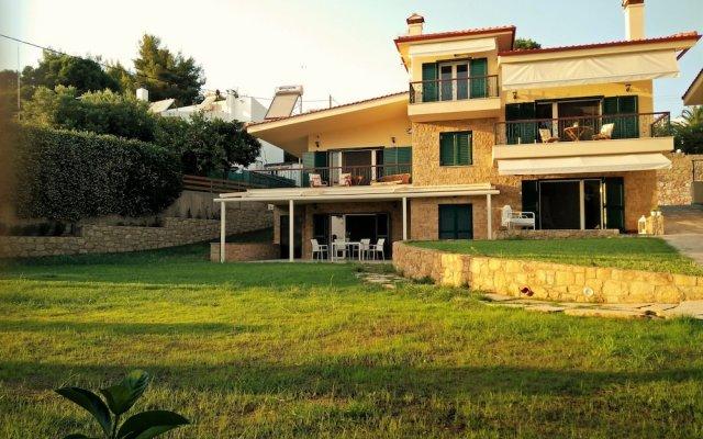 Отель Moriel Seaside Homes Suites Ситония вид на фасад
