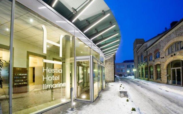 Hestia Hotel Ilmarine Таллин вид на фасад