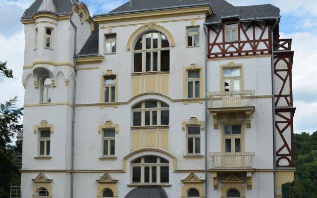Отель Villa Sofia Apartments Чехия, Карловы Вары - отзывы, цены и фото номеров - забронировать отель Villa Sofia Apartments онлайн вид на фасад