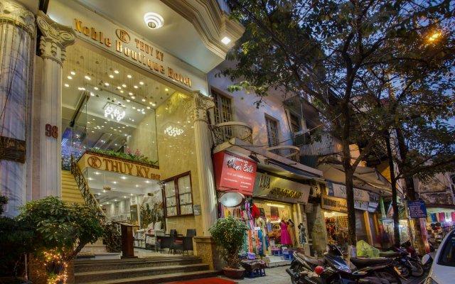 Noble Boutique Hotel Hanoi вид на фасад