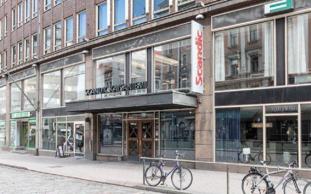 Отель Scandic Kaisaniemi Финляндия, Хельсинки - - забронировать отель Scandic Kaisaniemi, цены и фото номеров вид на фасад