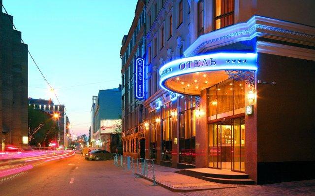 Отель Gentalion Москва вид на фасад