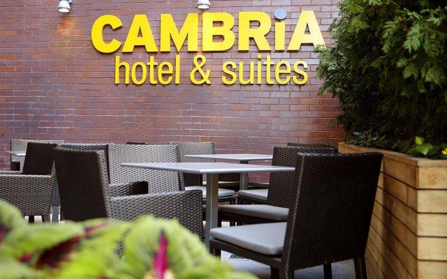 Отель Cambria Hotel New York - Chelsea США, Нью-Йорк - отзывы, цены и фото номеров - забронировать отель Cambria Hotel New York - Chelsea онлайн вид на фасад