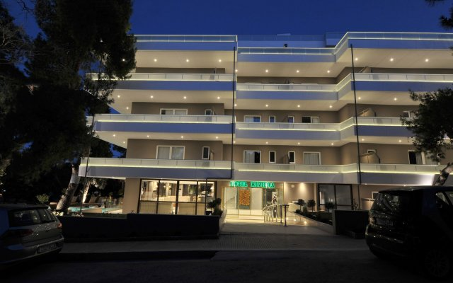 Athenian Riviera Hotel & Suites вид на фасад