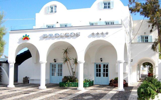 Отель Drossos Греция, Остров Санторини - отзывы, цены и фото номеров - забронировать отель Drossos онлайн вид на фасад