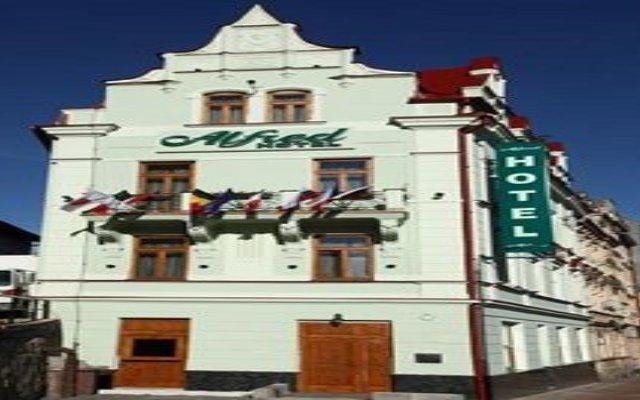 Отель Alfred Чехия, Карловы Вары - отзывы, цены и фото номеров - забронировать отель Alfred онлайн вид на фасад
