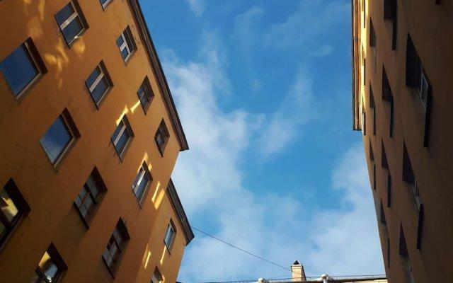 Гостиница Жилое помещение Brigit on Rubinsteina 25 вид на фасад