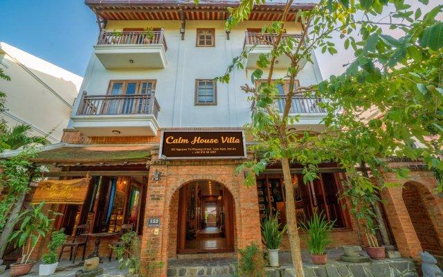 Отель Golden Peach Villa Hoi An вид на фасад