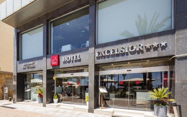 Отель URH Hotel Excelsior Испания, Льорет-де-Мар - 4 отзыва об отеле, цены и фото номеров - забронировать отель URH Hotel Excelsior онлайн вид на фасад