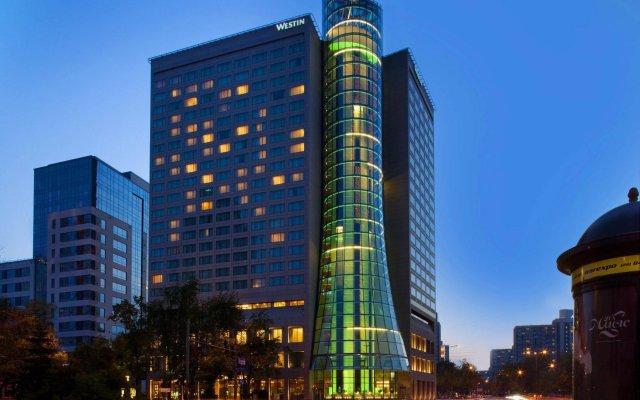 Отель The Westin Warsaw Польша, Варшава - 3 отзыва об отеле, цены и фото номеров - забронировать отель The Westin Warsaw онлайн вид на фасад
