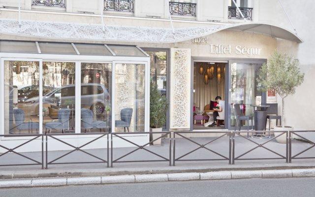 Hotel Eiffel Segur вид на фасад