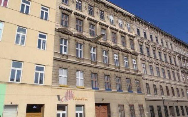 Апартаменты Brownies Apartments Вена вид на фасад