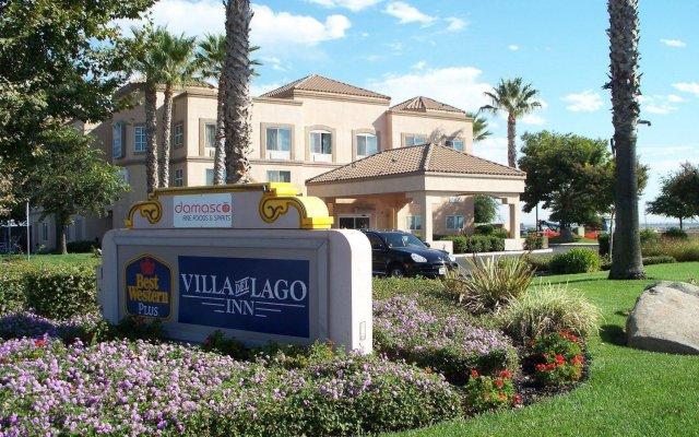 Отель Best Western PLUS Villa del Lago Inn вид на фасад