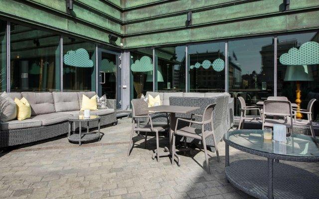 Отель Scandic Byporten Осло вид на фасад