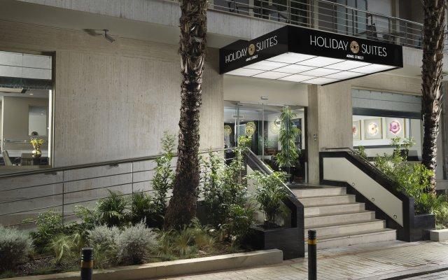 Отель Holiday Suites Афины вид на фасад