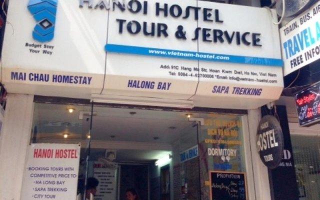 Отель Hanoi Hostel Вьетнам, Ханой - отзывы, цены и фото номеров - забронировать отель Hanoi Hostel онлайн вид на фасад