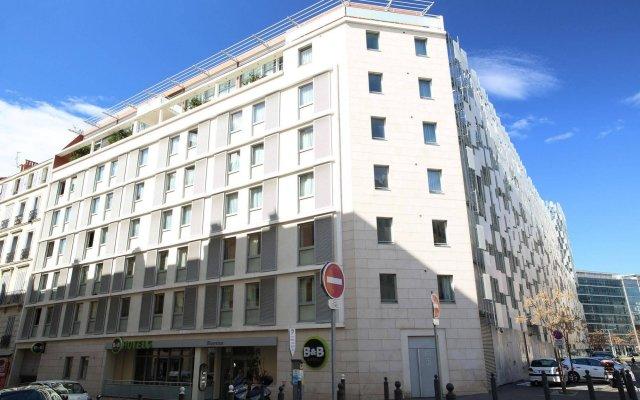 Отель B&B Hôtel Marseille Centre La Joliette Франция, Марсель - 2 отзыва об отеле, цены и фото номеров - забронировать отель B&B Hôtel Marseille Centre La Joliette онлайн вид на фасад