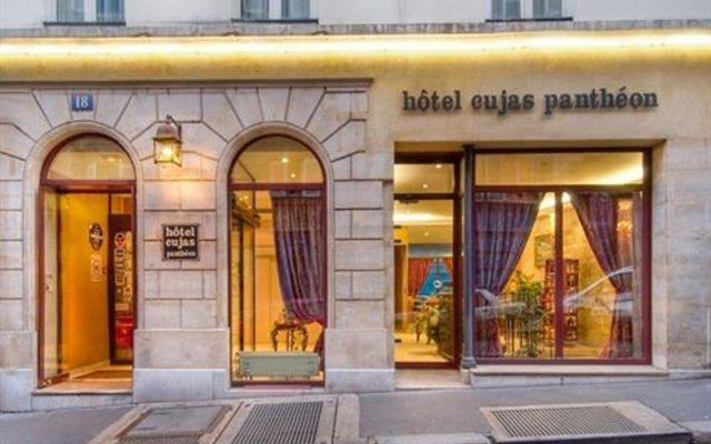 Отель Cujas Pantheon Франция, Париж - отзывы, цены и фото номеров - забронировать отель Cujas Pantheon онлайн вид на фасад