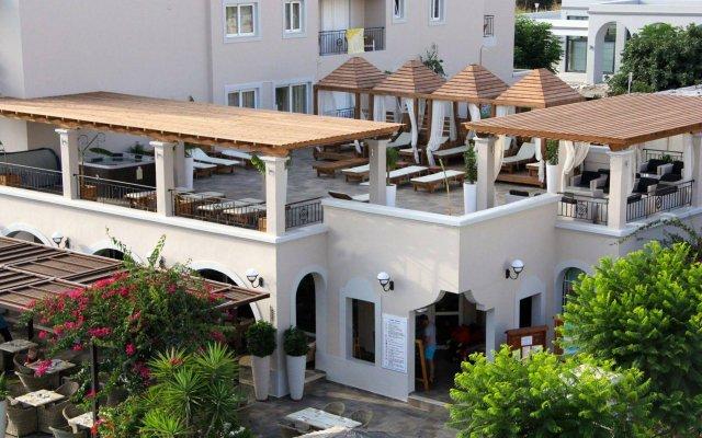 Отель Peridis Family Resort Греция, Кос - отзывы, цены и фото номеров - забронировать отель Peridis Family Resort онлайн вид на фасад