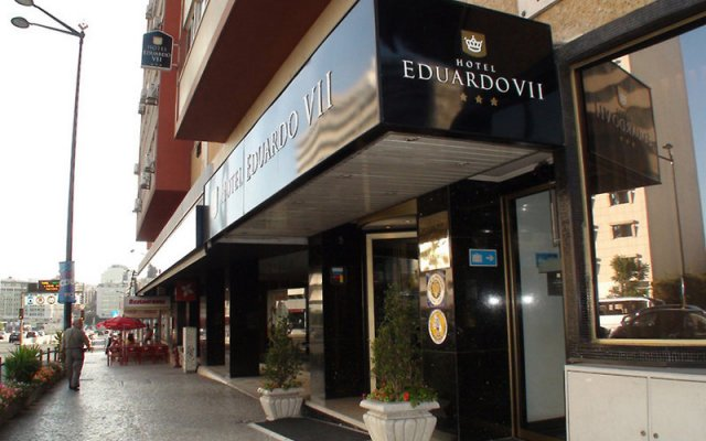 Hotel Eduardo VII вид на фасад