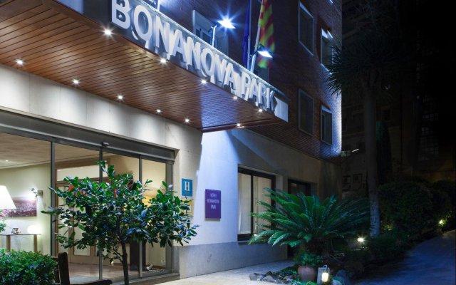 Отель Bonanova Park Испания, Барселона - 5 отзывов об отеле, цены и фото номеров - забронировать отель Bonanova Park онлайн вид на фасад