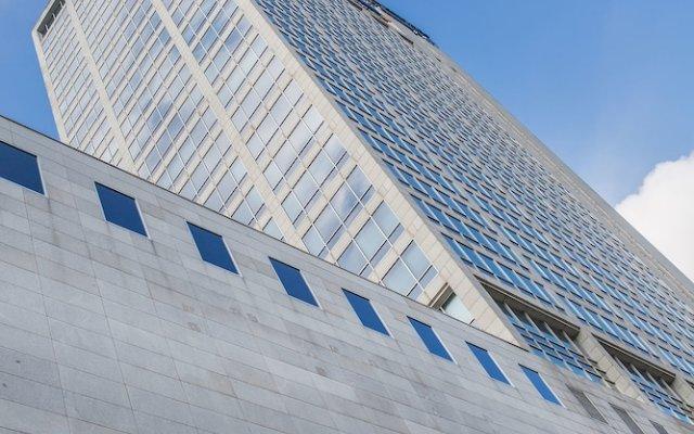 Отель Courtyard by Marriott Katowice City Center вид на фасад