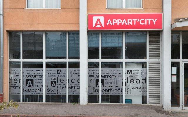 Отель Appart'City Lyon - Part-Dieu Villette Франция, Лион - 2 отзыва об отеле, цены и фото номеров - забронировать отель Appart'City Lyon - Part-Dieu Villette онлайн вид на фасад