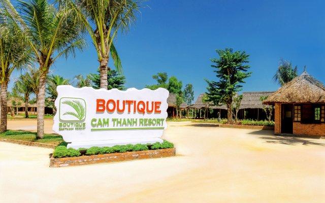 Отель Boutique Cam Thanh Resort вид на фасад
