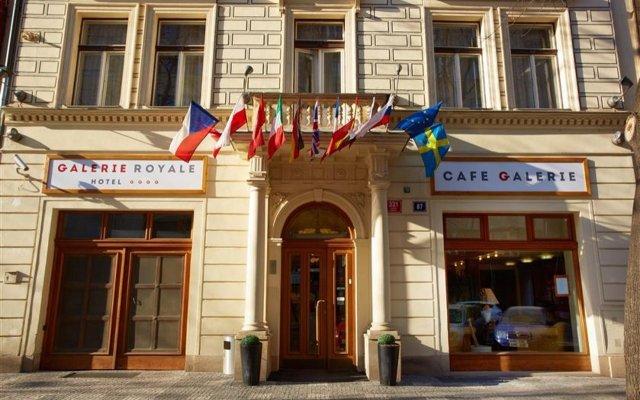 Отель Galerie Royale Прага вид на фасад