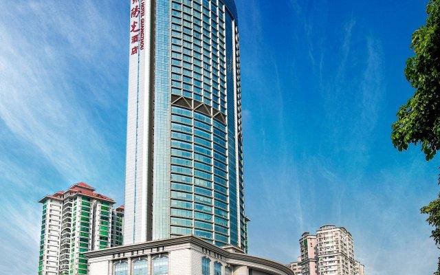 Soluxe Hotel Guangzhou вид на фасад